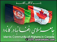 The Islamic Community of Afghans in Canada